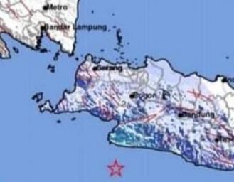 Gempa Terkini Sukabumi M 4.9