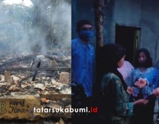 KNPI Soroti Rumah Terbakar dan Rencana PSBB Kecamatan Gunungguruh Sukabumi