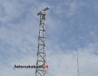 Sukabumi Punya Radar Santanu Pendeteksi Curah Hujan Deteksi Dini Bencana Hidrometeorologi