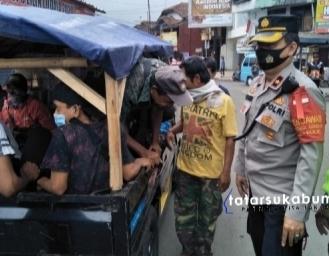 Ada Sanksi Bagi Pelanggar Protokol Kesehatan di Sukabumi