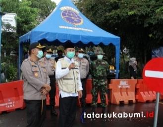 Status Kota Sukabumi Zona Merah, 3 Titik Ruas Jalan Bhayangkara Ditutup Sementara