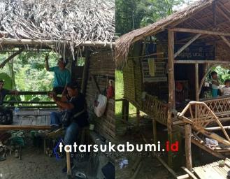 Miris! Warga Ciracap Tinggal di Gubuk Makan Rebus Pepaya Muda Pengganti Beras