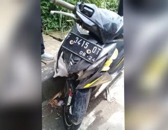 Kecelakaan Maut Warga Lengkong di Ruas Jalan Sukabumi - Bogor