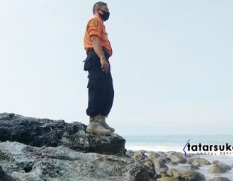 SAR Lakukan Pencarian Wisatawan Hilang Tenggelam di Palabuhanratu