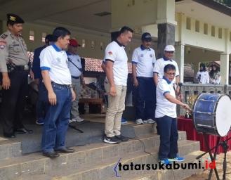 Polres Sukabumi Gandeng Dinas Pendidikan Gelar Lomba Marching Band