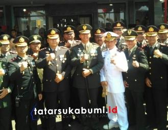 HUT TNI ke-74 Kodim 0607 Sukabumi, TNI Profesional Kebanggan Rakyat